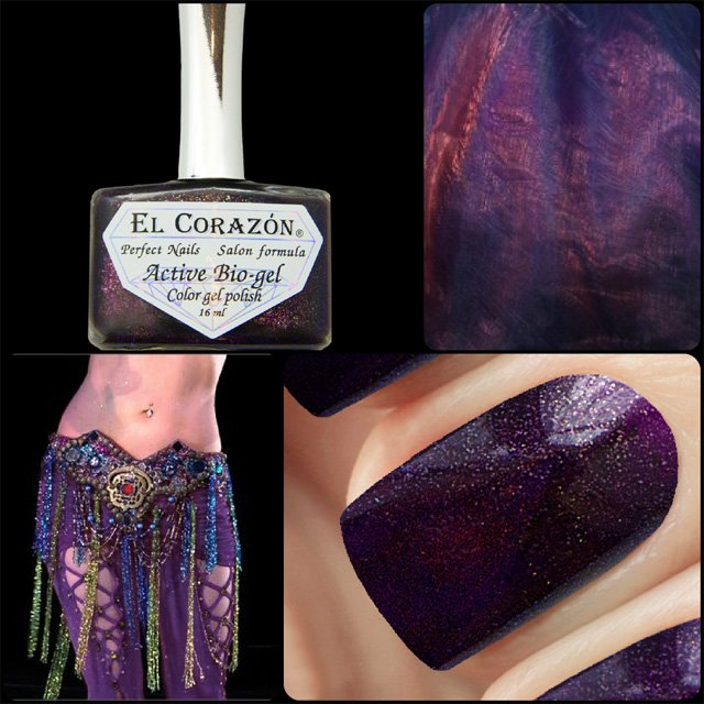 EL Corazon Active Bio-gel Color gel polish Eastern Organza 423/957