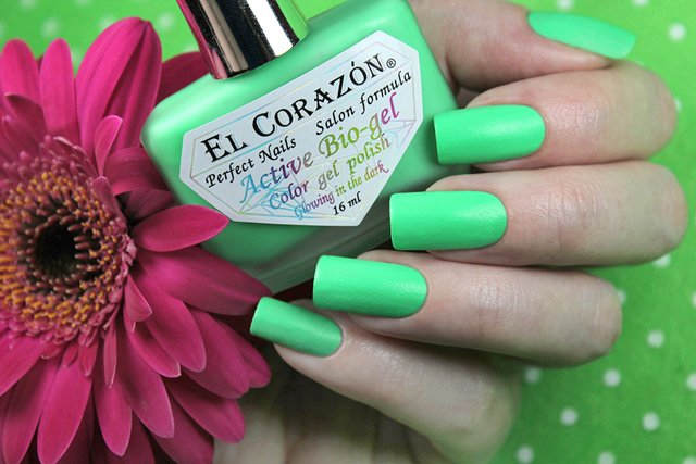 EL Corazon Active Bio-gel Color gel polish Luminous 423/485