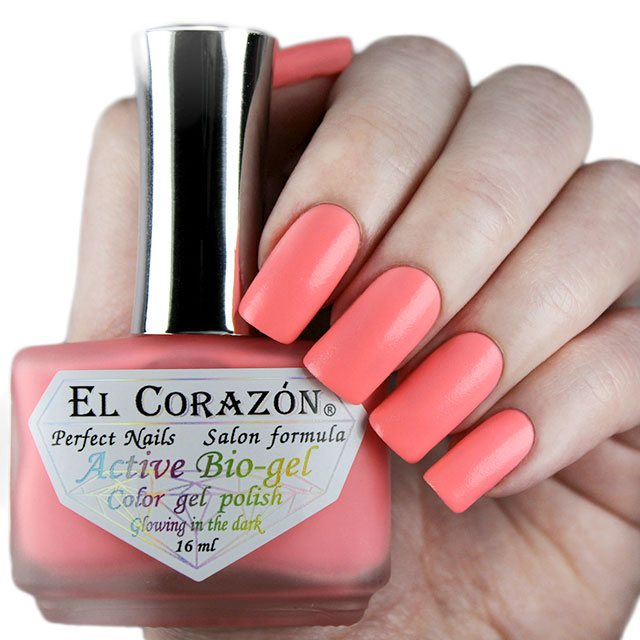 EL Corazon Active Bio-gel Color gel polish Luminous 423/487