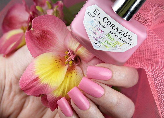 EL Corazon Active Bio-gel Color gel polish Luminous 423/488