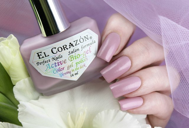EL Corazon Active Bio-gel Color gel polish Luminous 423/495