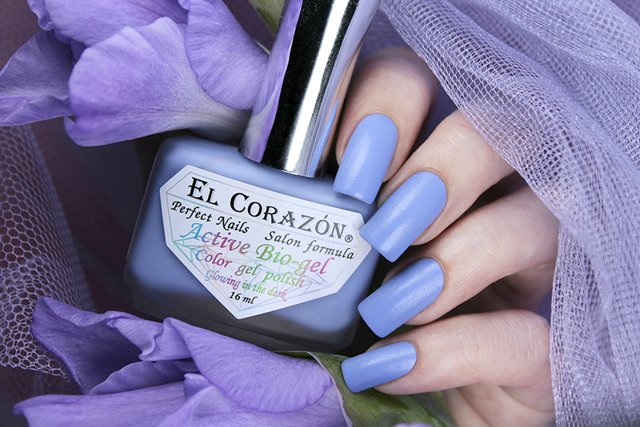 EL Corazon Active Bio-gel Color gel polish Luminous 423/496
