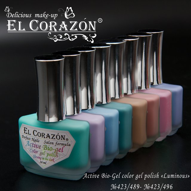 El Corazon Glowing in the dark Active Bio-gel Active Bio-gel 423/931-423/943