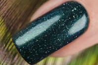 EL Corazon Peacock's tail Active Bio-gel Color gel polish