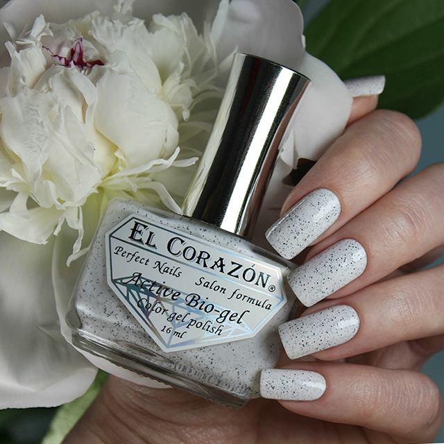 EL Corazon Active Bio-gel Color gel polish 423/1071  dalmatians
