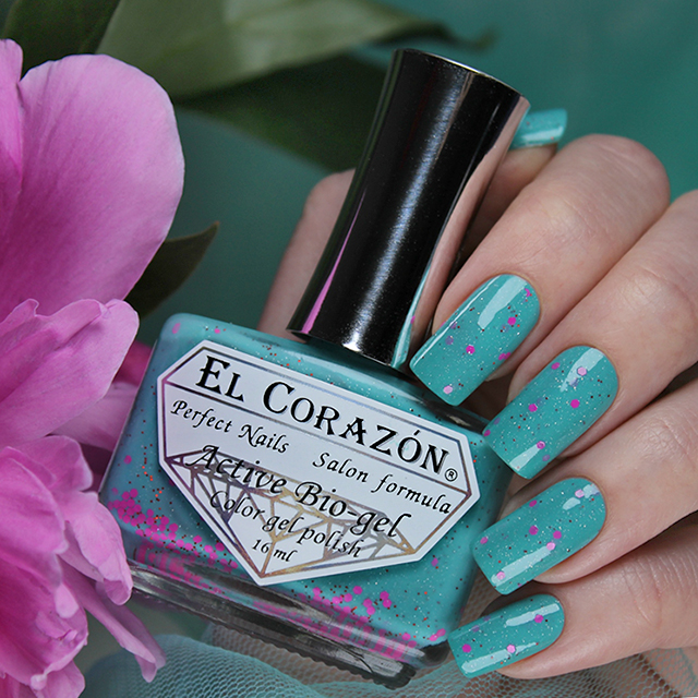 EL Corazon Active Bio-gel Color gel polish Dreams of the Cadillac