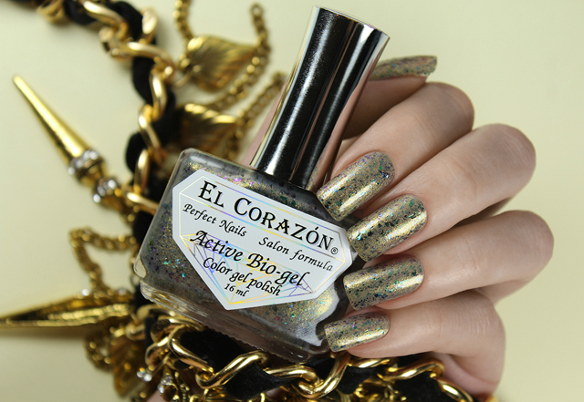 EL Corazon Active Bio-gel Color gel polish Star baths 423/1182