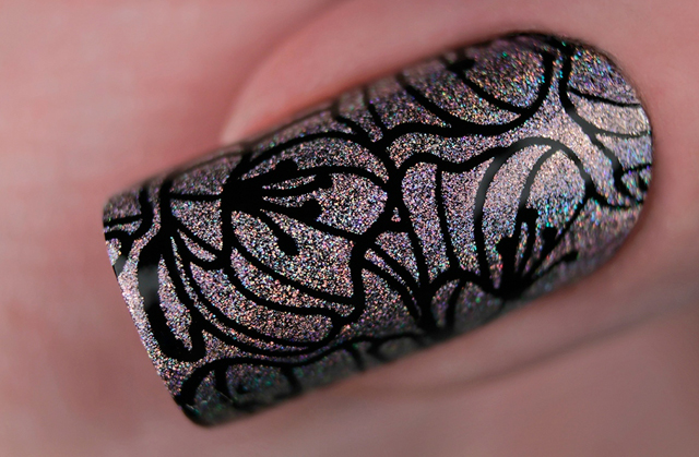 краска для стемпинга, Special paint for stamping nail art Stm-57 Pink
