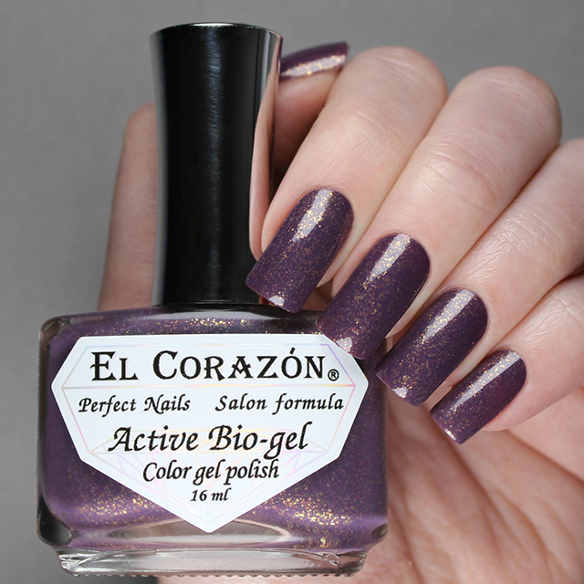 EL Corazon Active Bio-gel Color gel polish Volcanic haze 423/1122